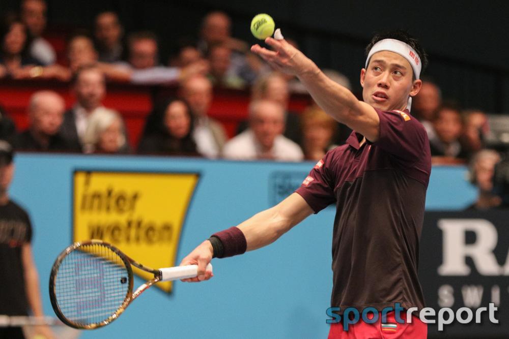 Ellbogen-Verletzung verhindert den Start von Kei Nishikori bei den Erste Bank Open –  Der Japaner kündigt aber bereits seine Rückkehr nach Wien für kommendes Jahr an