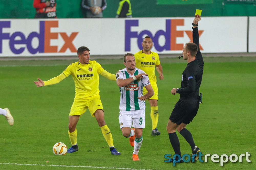 SK Rapid Wien, Villarreal, aus dem Allianz Stadion, Europa League