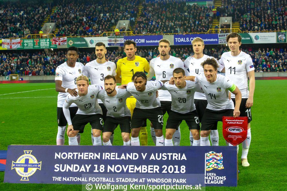 Nordirland, Österreich, aus dem Ernst Happel Stadion, Nations League