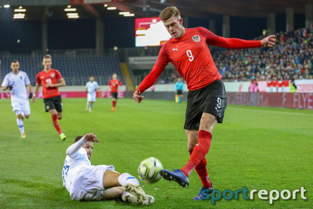 Österreich, Griechenland, aus der NV Arena, U21 EM Playoff