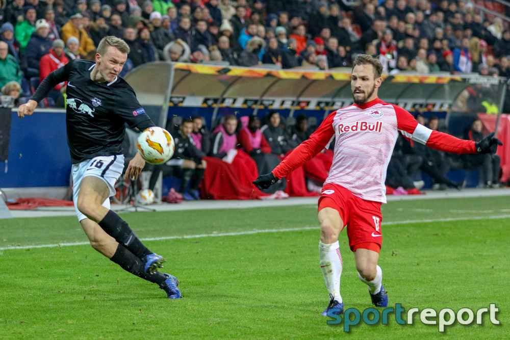 FC Red Bull Salzburg, RB Leipzig, aus der Red Bull Arena, Europa League