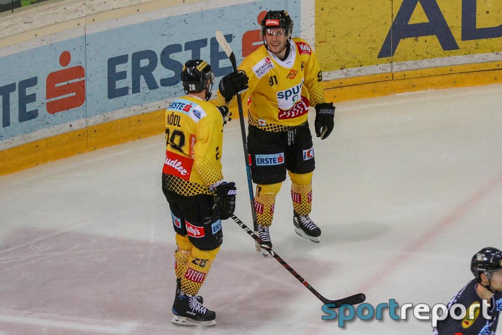 Vienna Capitals, Dornbirner EC - Bulldogs, aus der Albert Schultz Halle, EBEL
