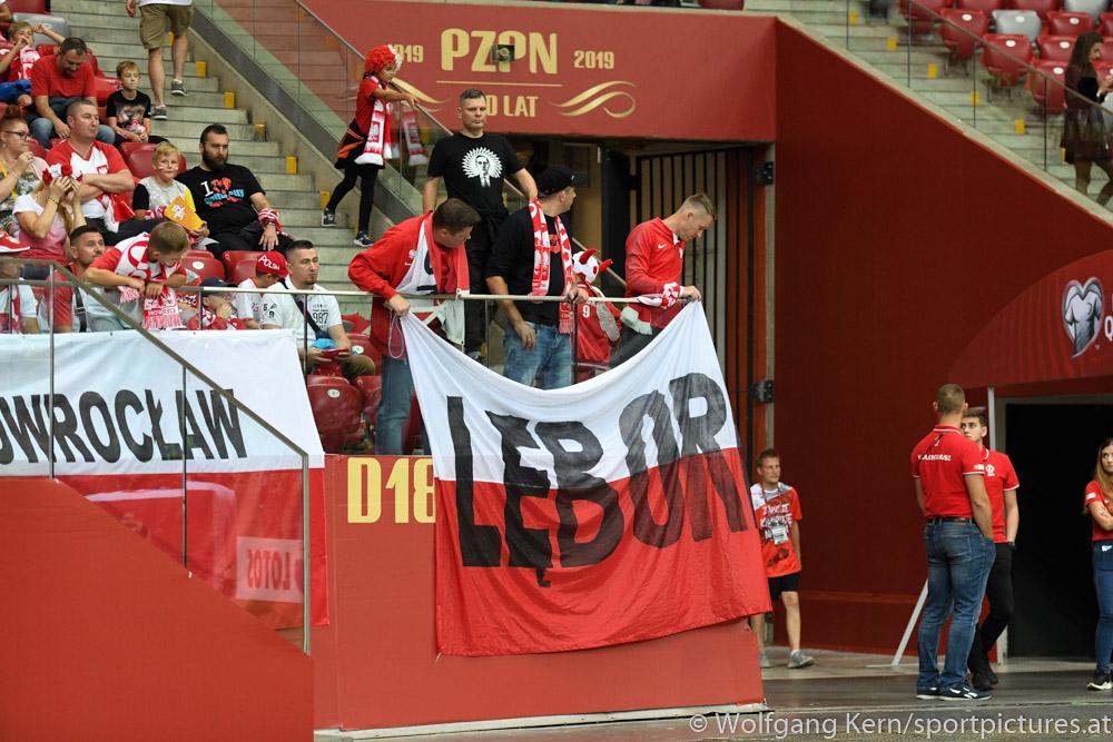 Polen, Österreich, aus dem Ernst Happel Stadion, EM Qualifikation