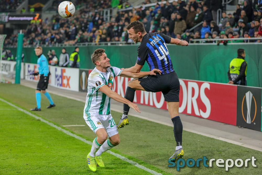 SK Rapid Wien, Inter Mailand, aus dem Weststadion, UEFA Europa League