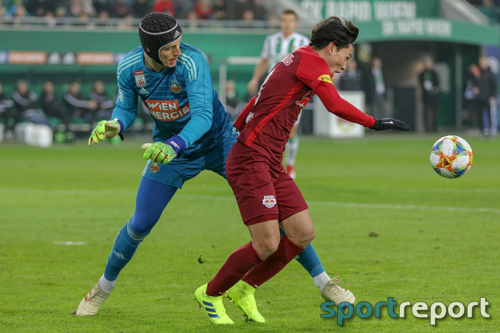 Erster Sieg seit 2015 - Rapid Wien gewinnt offenen Schlagabtausch gegen FC Red Bull Salzburg