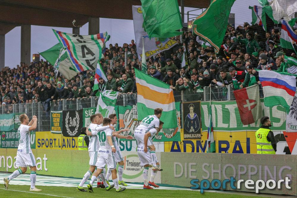 SKN St Pölten, SK Rapid Wien, aus der NV Arena, Tipico Bundesliga