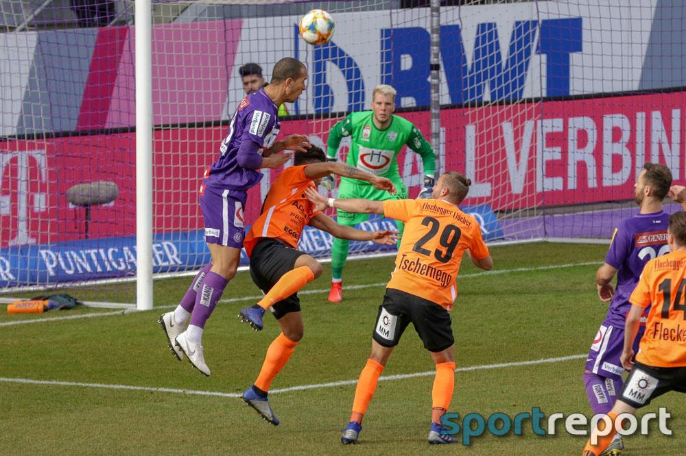FK Austria Wien, TSV Hartberg, aus der Generali Arena, Tipico Bundesliga