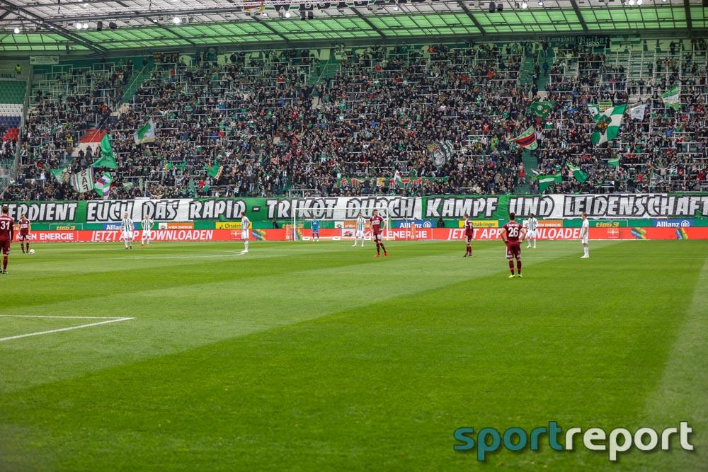 SK Rapid Wien, SV Mattersburg, aus dem Allianz Stadion, Tipico Bundesliga