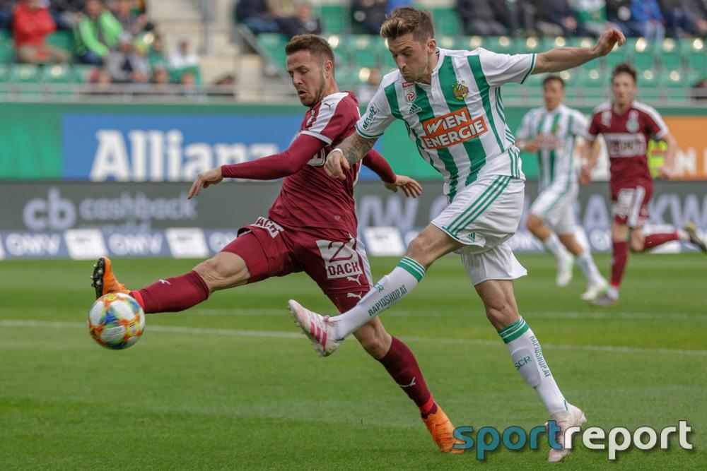 """Christoph Knasmüllner (Rapid): """"Wir sind als Mannschaft so stark, dass wir auch einen Rückstand drehen können"""""""