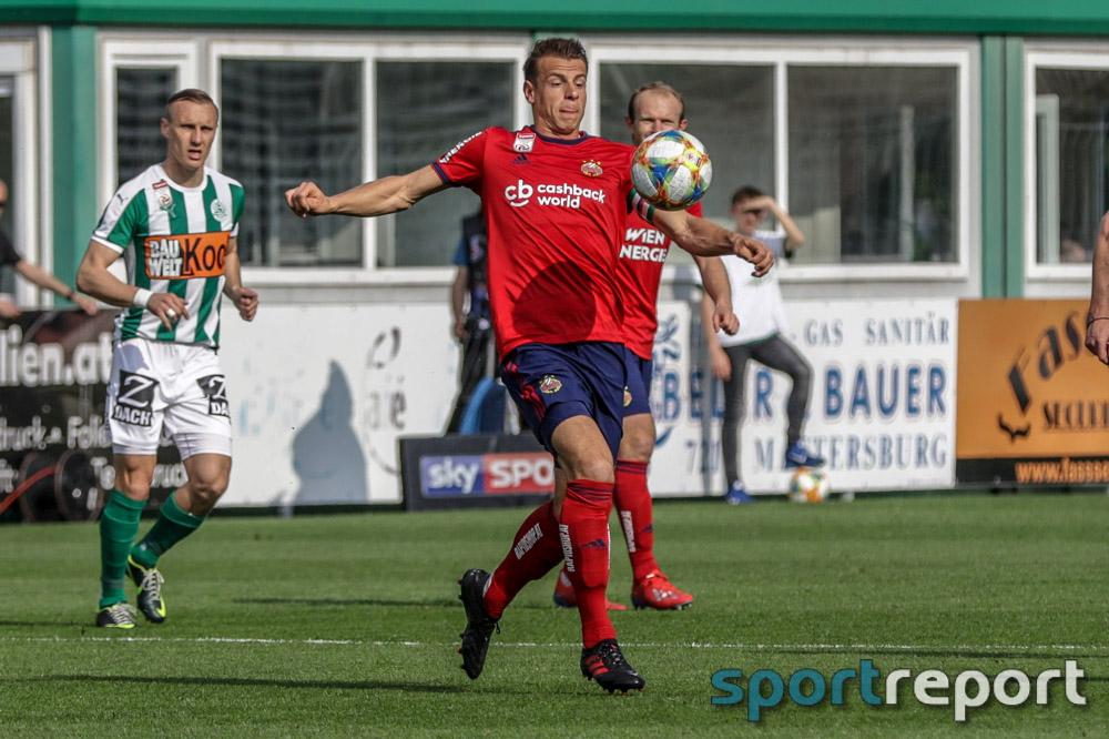 Rapid erkämpft sich 3 Punkte beim SV Mattersburg