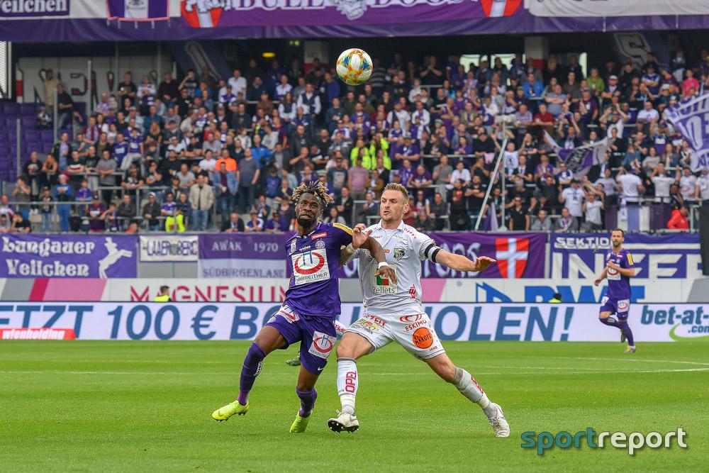 FK Austria Wien, WAC, aus der Generali Arena, Tipico Bundesliga