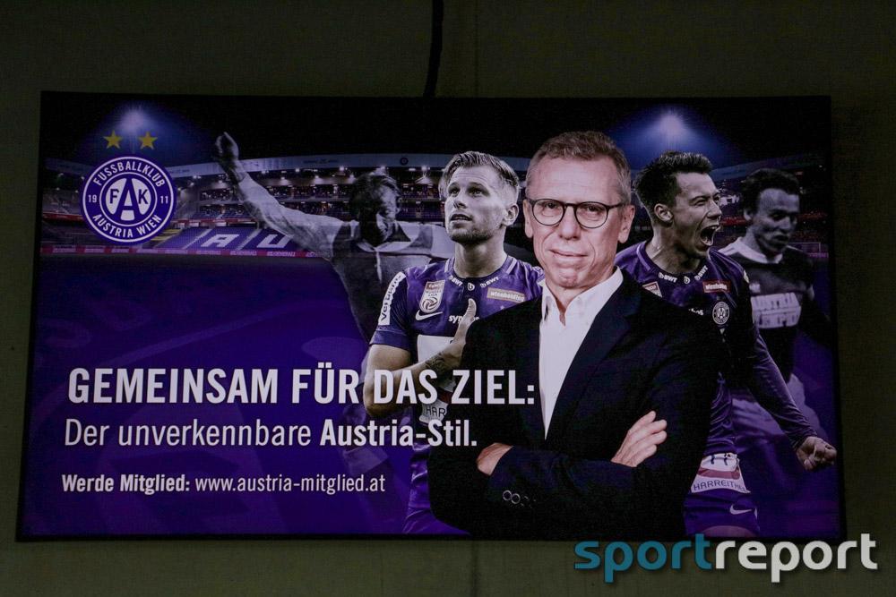 FK Austria Wien, Vorstellung Geschäftsführer Sport, aus der Generali Arena, Pressekonferenz