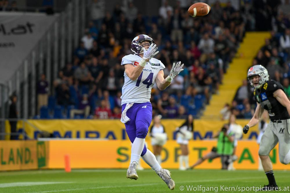 Swarco Raiders Tirol, Dacia Vikings, NV Arena, Austrian Bowl