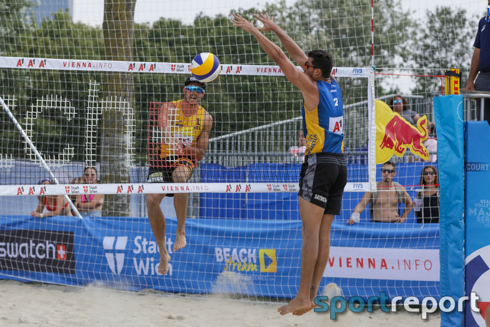 Turnier, A1 Major Beachvolleyball, Donauinsel, A1 Major
