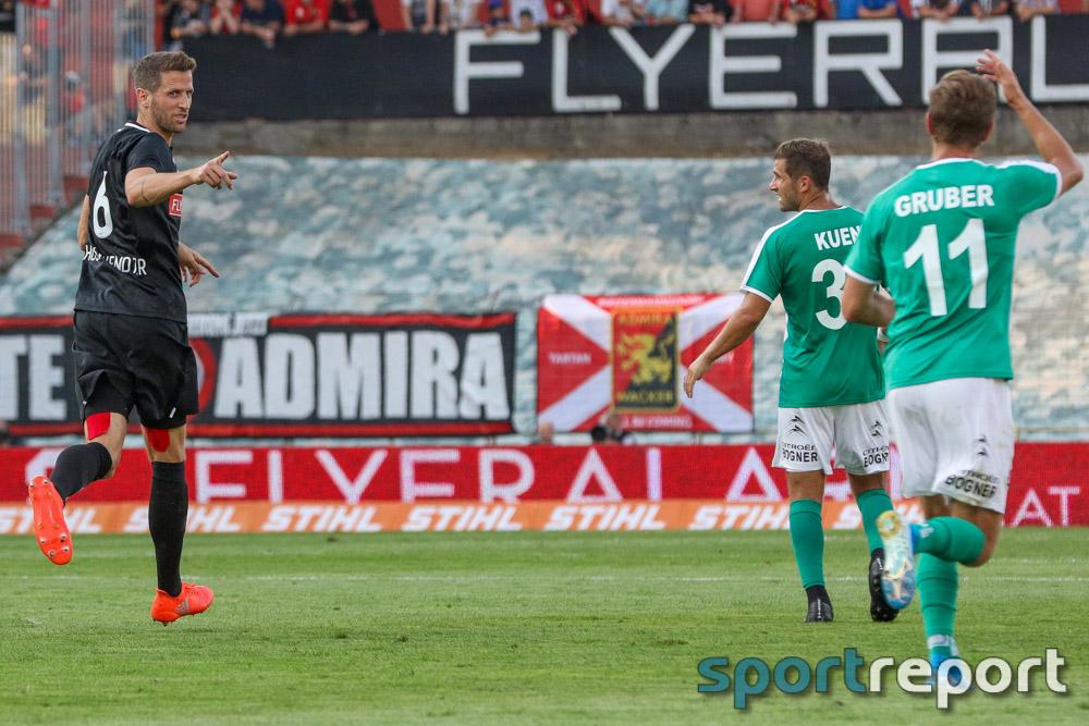 FC Flyeralarm Admira, SV Mattersburg, aus der BSFZ Arena, Tipico Bundesliga