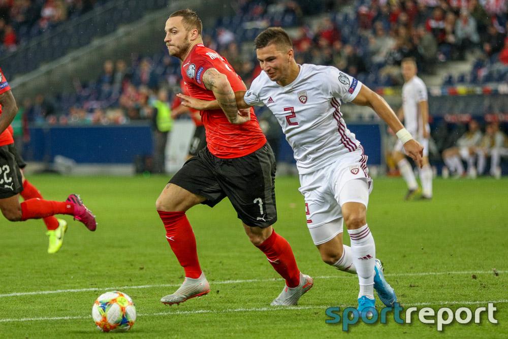 Österreich, Lettland, aus der Red Bull Arena, EM Qualifikation