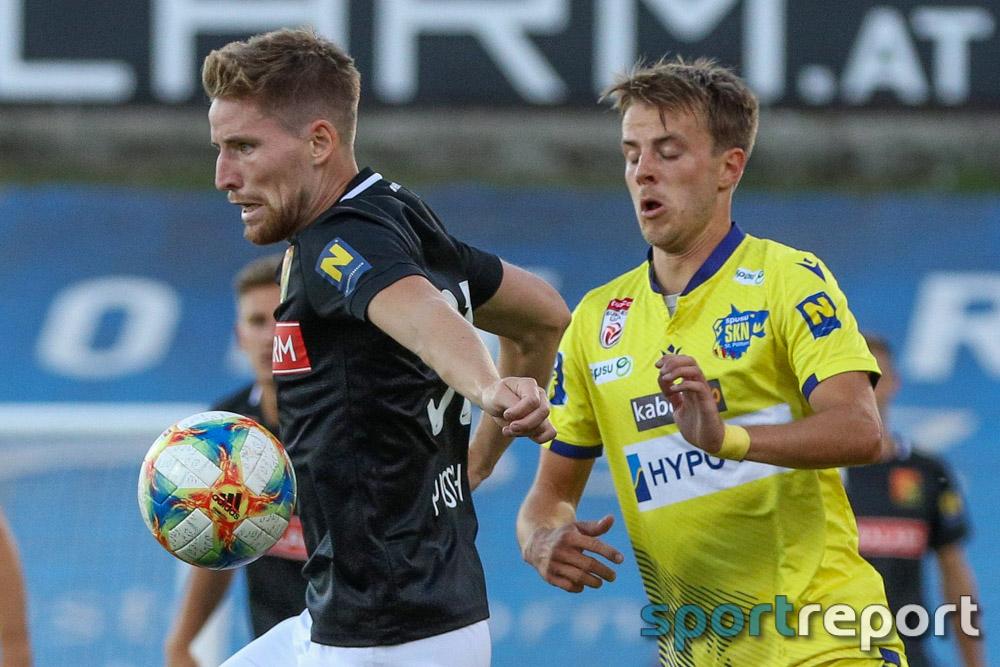 FC Flyeralarm Admira, SKN St Pölten, aus der BSFZ Arena, Tipico Bundesliga