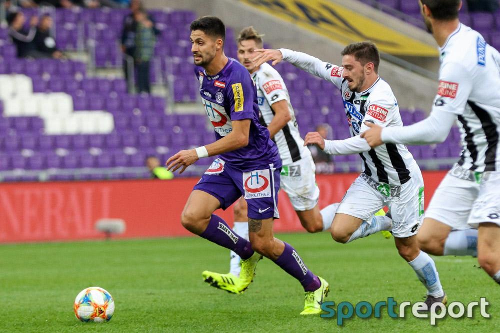 Chance auf Meistergruppe verpasst - Unentschieden bei Sturm reicht Austria nicht