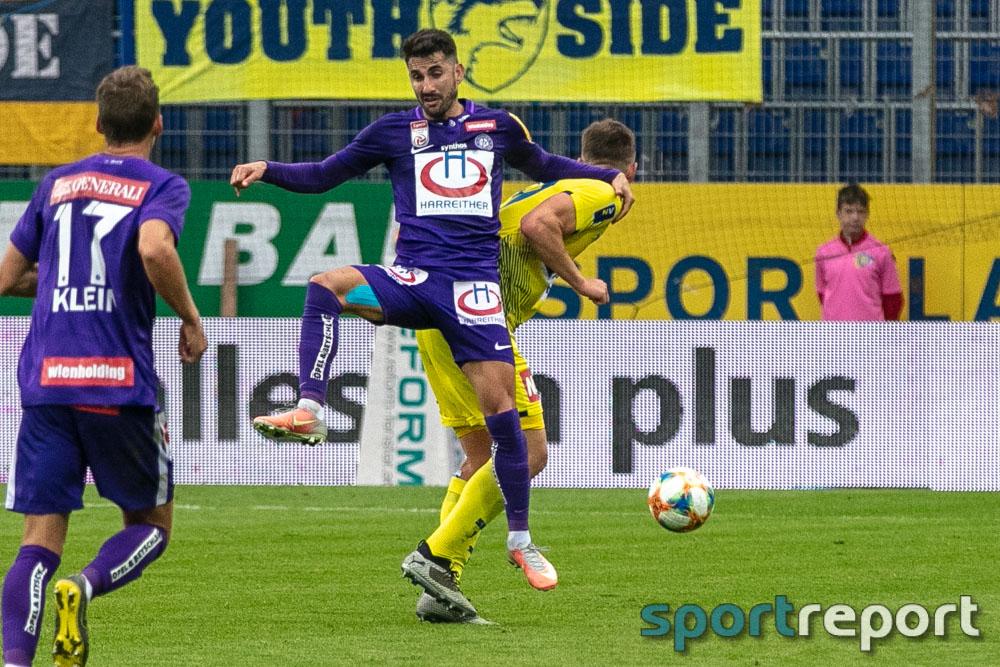SKN St Pölten, FK Austria Wien, aus der NV Arena, Tipico Bundesliga