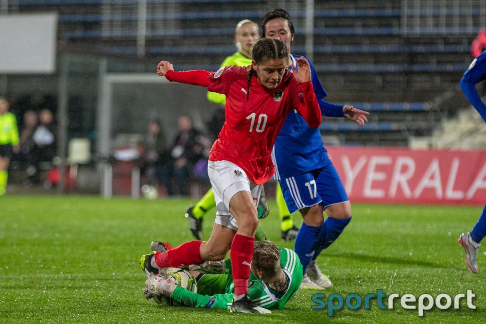 Österreich, Kasachstan, aus der BSFZ Arena, EM Qualifikation