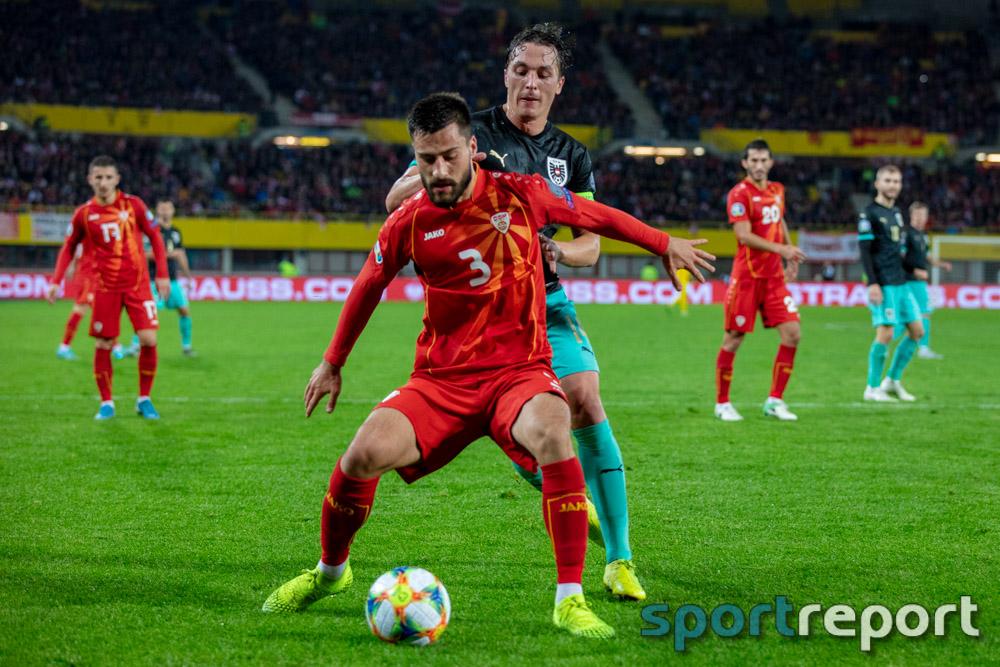 Österreich, Nordmazedonien, aus dem Ernst Happel Stadion, EM Qualifikation
