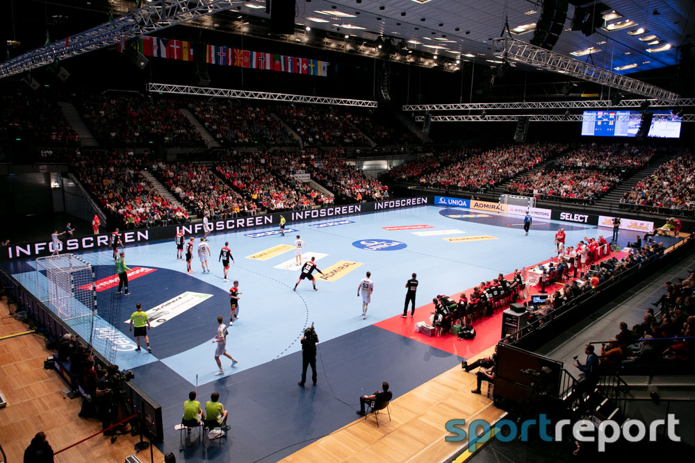 Österreich, Deutschland, Wiener Stadthalle, Testspiel