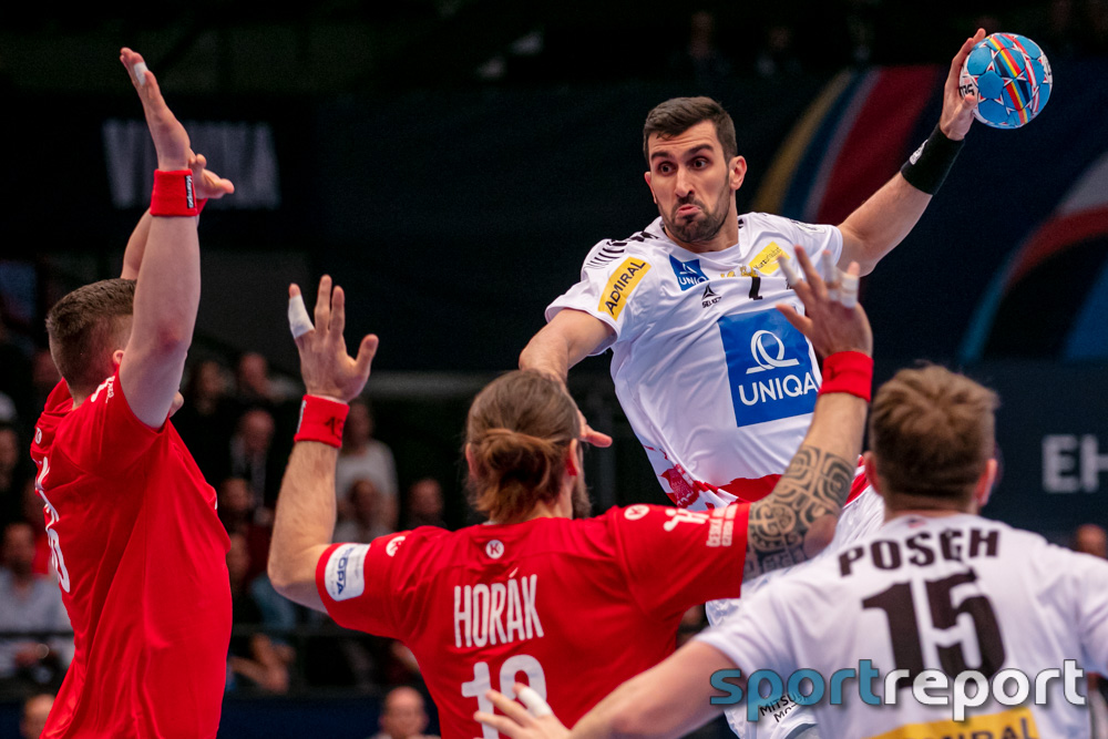 Österreich, Tschechien, Wiener Statdthalle, EHF EURO 2020