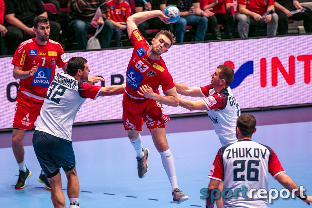 Österreich, Ukraine, Wiener Statdthalle, EHF EURO 2020