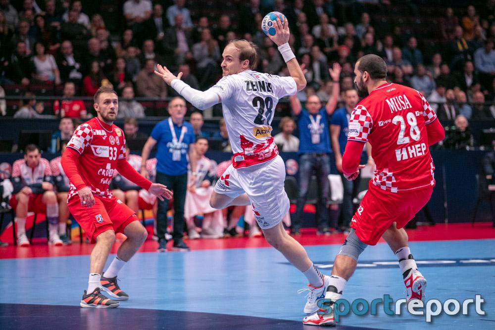 Österreich, Kroatien, Wiener Statdthalle, EHF EURO 2020