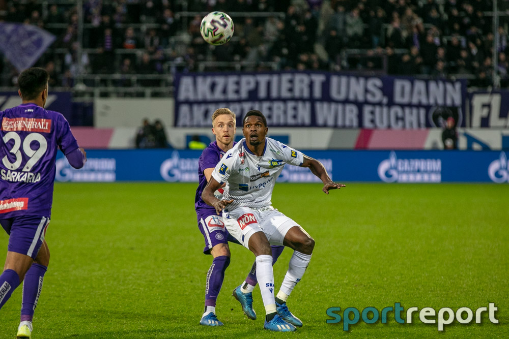 FK Austria Wien, SKN St Pölten, aus der Generali Arena, Tipico Bundesliga