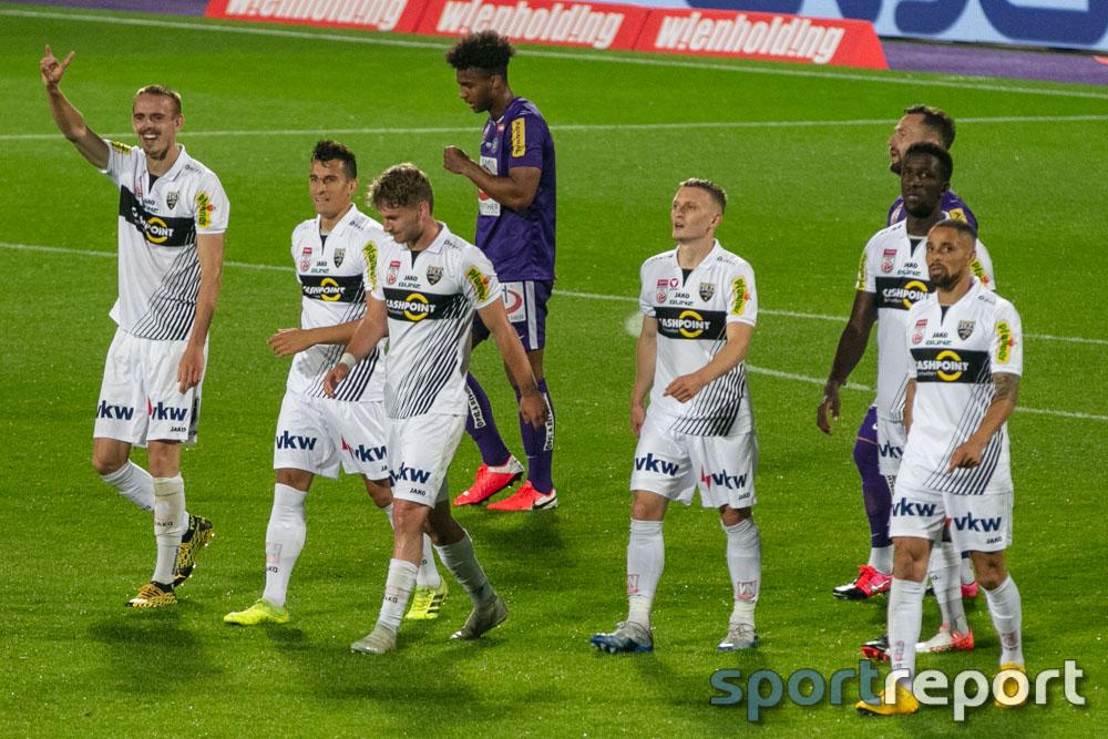FK Austria Wien, SCR Altach, aus der Generali Arena, Tipico Bundesliga