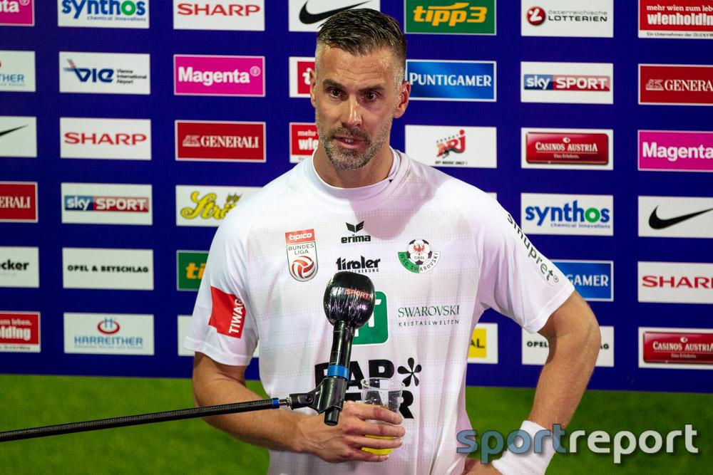 """Stefan Maierhofer (WSG Tirol): """"Bei manchen Spielern muss ich es hinterfragen, ob sie den Abstiegskampf annehmen"""""""