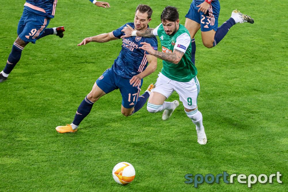 SK Rapid Wien, Arsenal FC, Allianz Stadion, Europa League