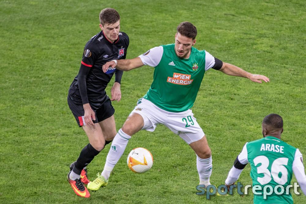 Europa League, Rapid, Rapid Wien, Dundalk, #DFCSCR, #DUNSCR