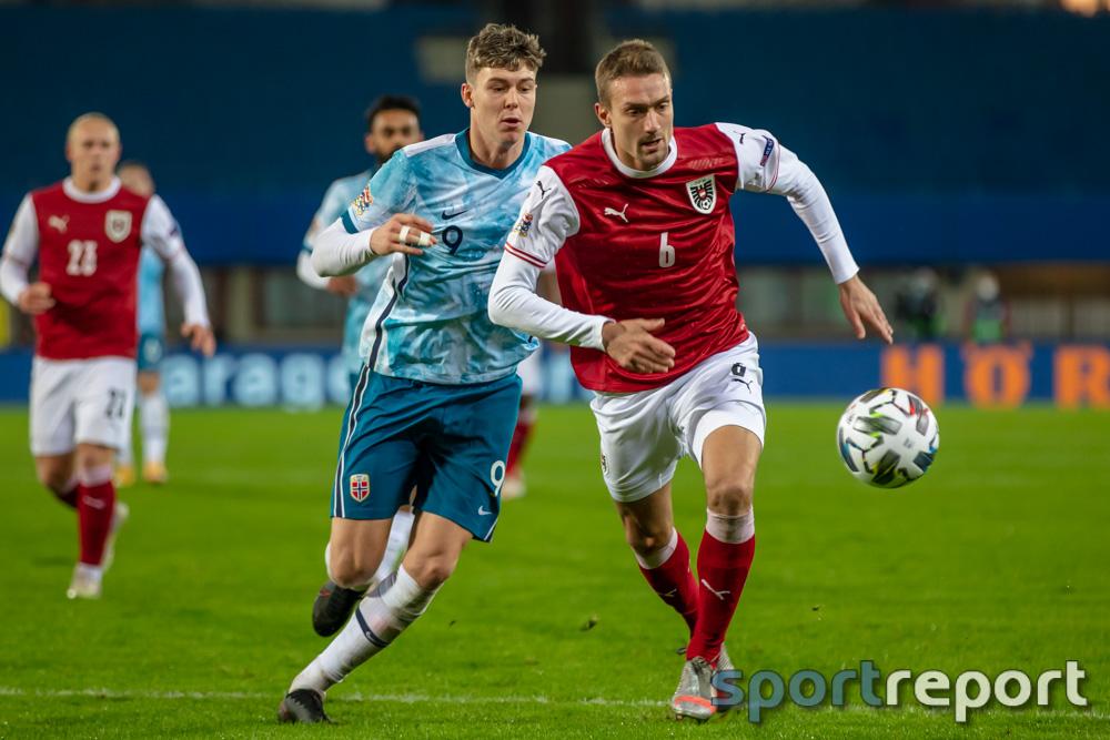 Österreich, Norwegen, aus dem Ernst Happel Stadion, Nations League