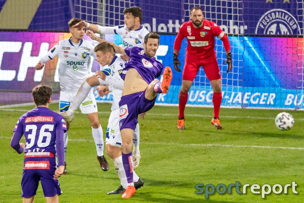 FK Austria Wien, SKN St Pölten, Generali Arena, Tipico Bundesliga