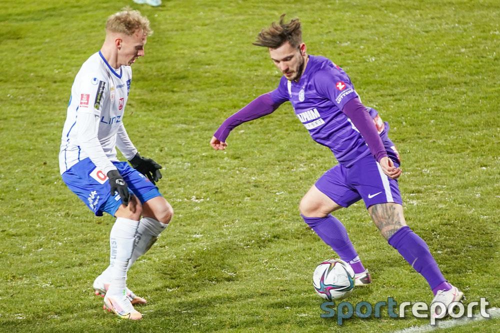 Young Violets Austria Wien, Blau Weiß Linz, Generali Arena, Zweite Liga