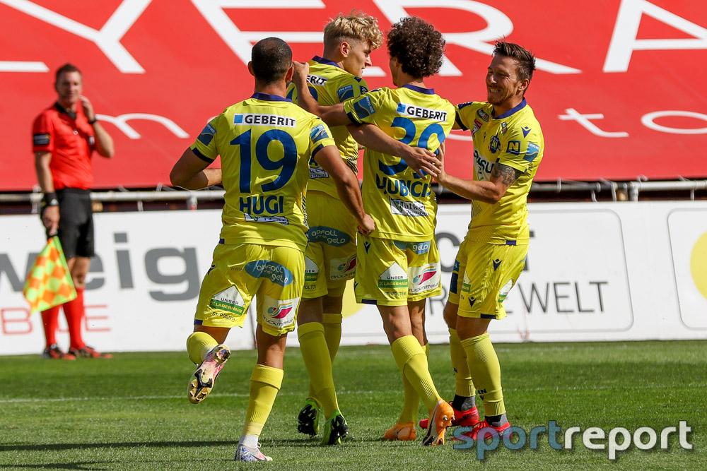 SKN St Pölten schießt den TSV Hartberg in der 94. Minute aus der Meistergruppe