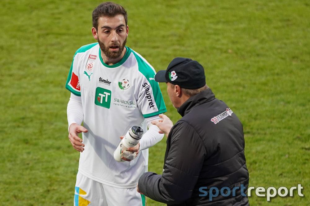 """Thanos Petsos (WSG Tirol): """"Es war ein Kreisliga-Kick"""""""