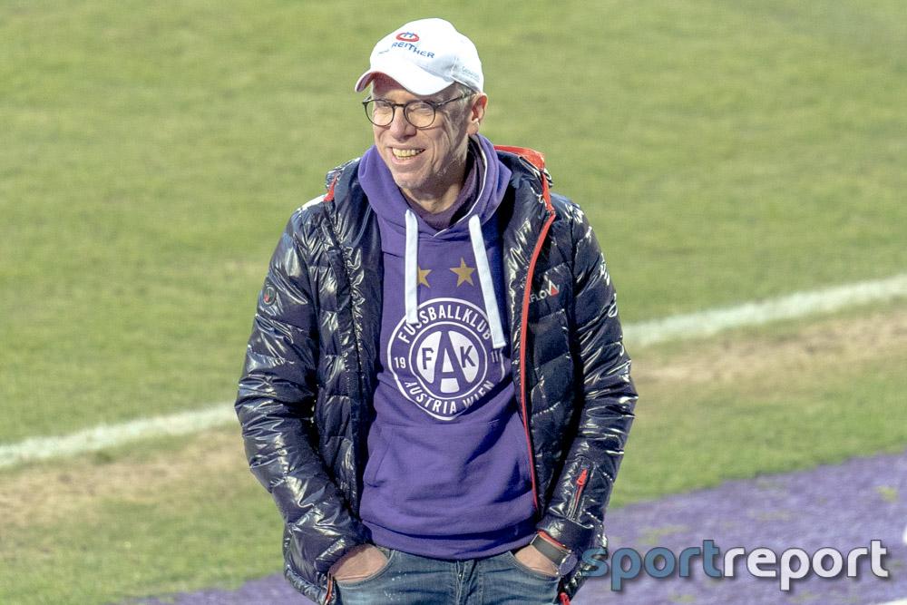 """Peter Stöger (Trainer Austria Wien): """"Rapid war die gefährlichere Mannschaft"""""""