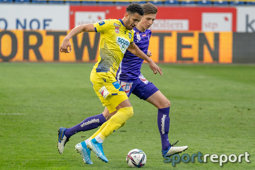 SKN St Pölten, FK Austria Wien, NV Arena, Tipico Bundesliga