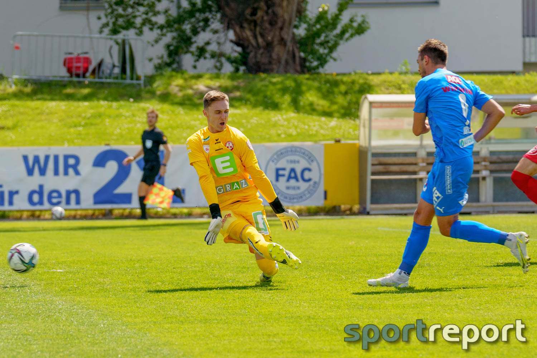 Floridsdorfer AC, FAC, GAK, vom FAC Platz, Zweite Liga