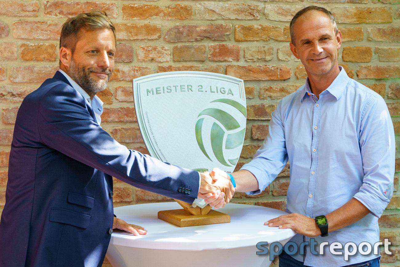 Pressekonferenz, ADMIRAL 2. Liga, STADION, Zweite Liga