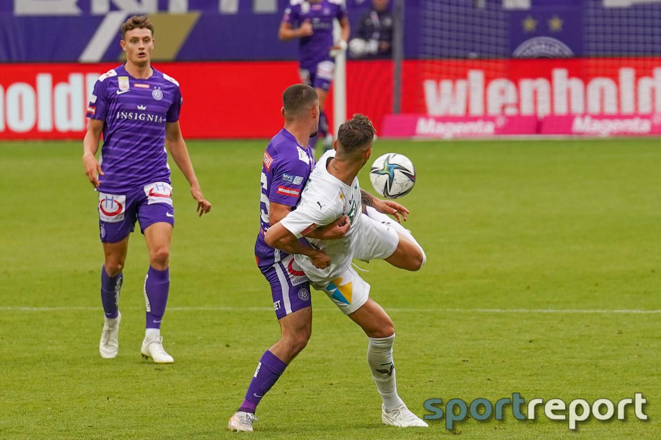 FK Austria Wien, WSG Tirol, Generali Arena, ADMIRAL Bundesliga