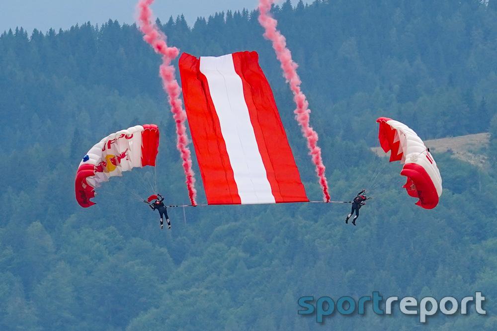 HSV Red Bull Salzburg mit Gold- Silber- und Bronzemedaillen beim Weltcup im Fallschirm-Zielspringen in Thalgau