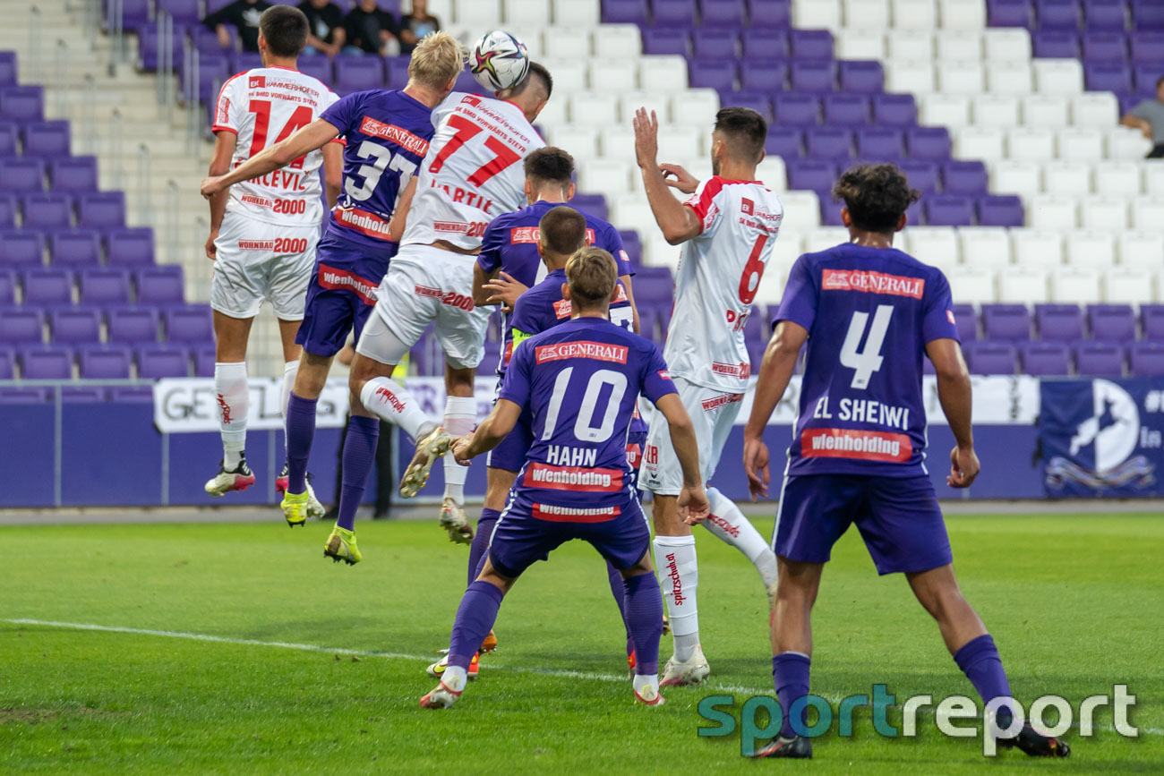 Young Violets Austria Wien, SK Vorwärts Steyr, Generali Arena, ADMIRAL 2. Liga