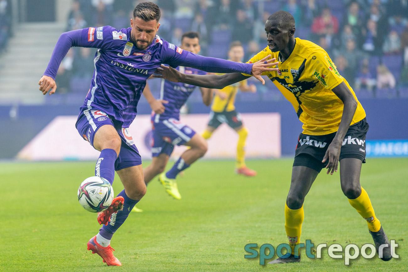 FK Austria Wien, SCR Altach, Generali Arena, ADMIRAL Bundesliga