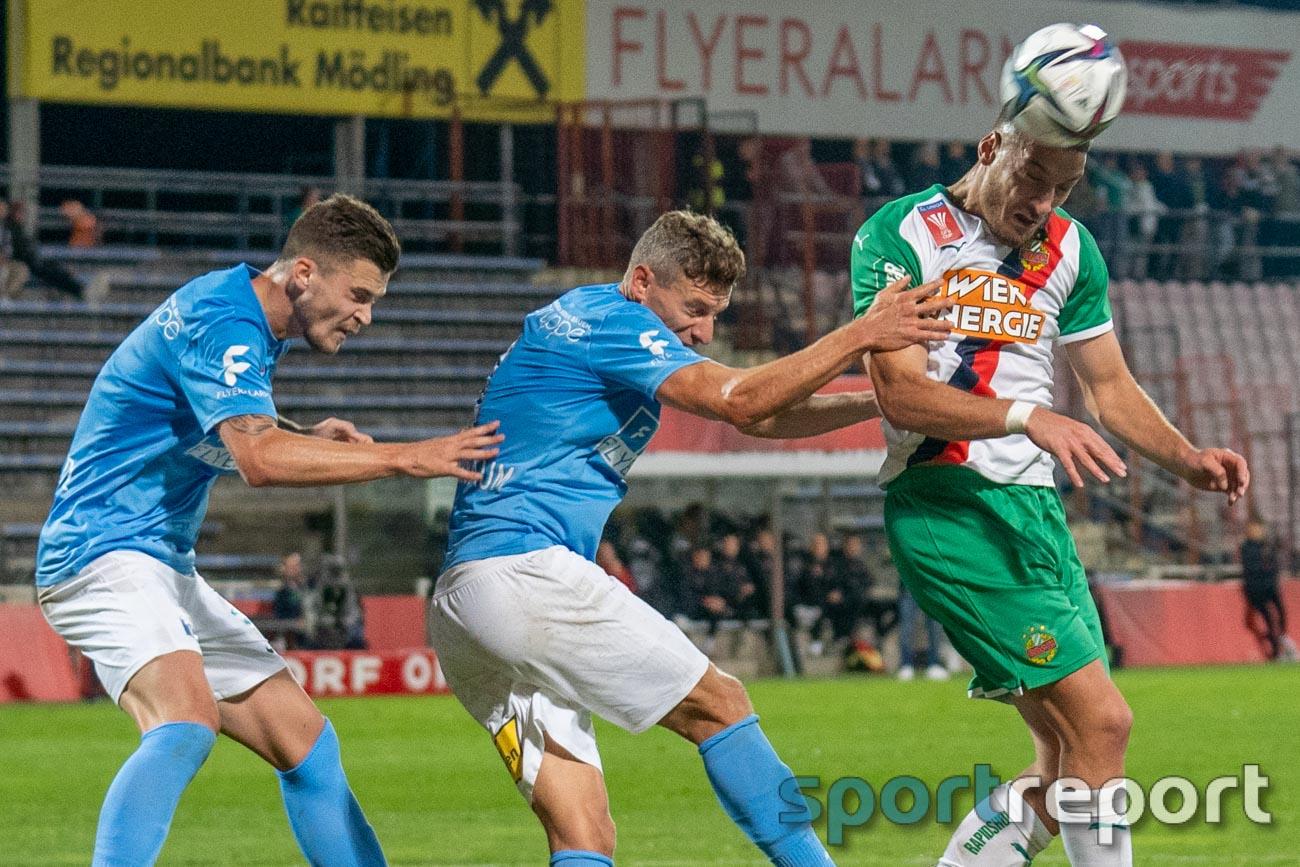 FC Flyeralarm Admira, SK Rapid Wien, BSFZ Arena, ÖFB Cup