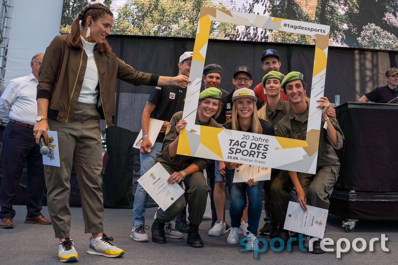 Tag des Sports, 2021, Ernst Happel Stadion, Sportler, Sportlerinnen