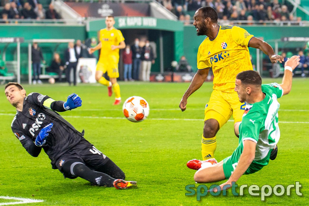 SK Rapid Wien, Dinamo Zagreb, Allianz Stadion, UEFA Europa League